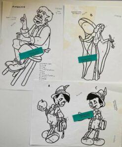 Uro / Pinocchio / Lap på lap