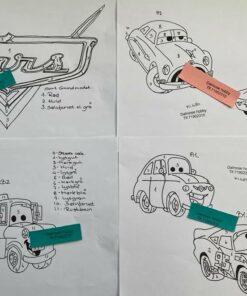 Uro / Cars / Lap på lap