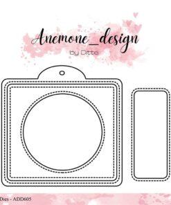 Dies / Photo frame / Anemone Design