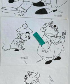 Uro / Basil mus / Lap på lap