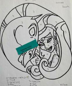 Megara & Pegasus / Lap på lap