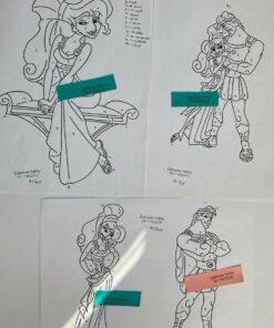 Uro / Megara & Herkules / Lap på lap