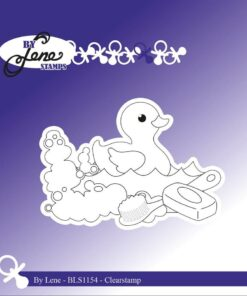 Stempel / Duck in shower / By Lene