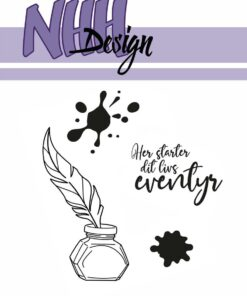 Stempel / Pen & blæk / NHH Design