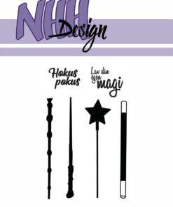 Stempel / Tryllestave / NHH Design