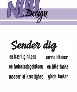 Stempel / Sender dig / NHH Design