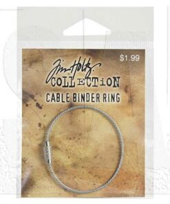 Cable binder ring / Tim Holtz