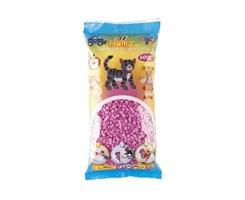 Hama midi perler, 6000 stk / Pastel pink