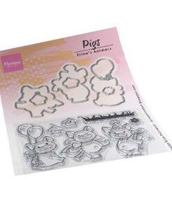 Stempel / Pigs / Marianne Design