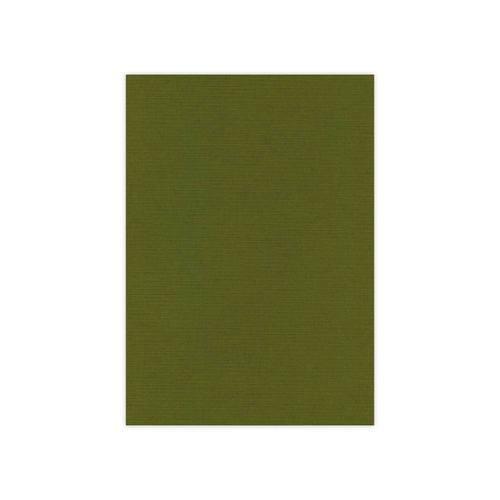 Linnen karton / Moss green, 240 G