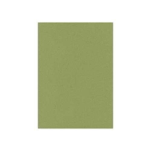 Linnen karton / Olive green, 240 G