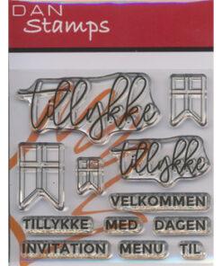 Stempel / Tillykke / Dan Stamps