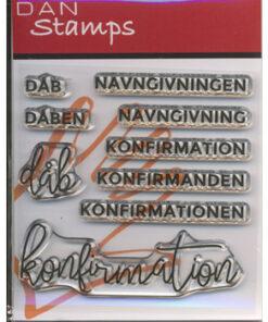 Stempel / Konfirmation & dåb / Dan Stamps