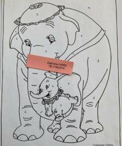 Dumbo og mor / Lap på lap