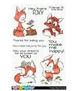 Stempel / Foxes / C.C Designs