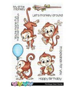 Stempel / Monkeys / C.C Designs