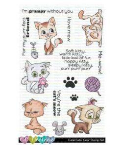 Stempel / Cutie cats / C.C Designs