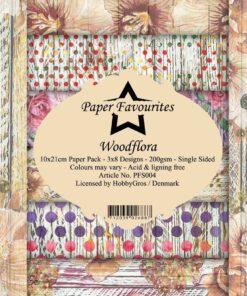 Karton slimcard / Woodflora / Paper favourite
