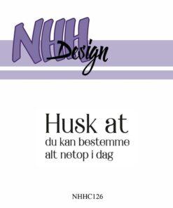 Stempel / Dansk tekst / NHH Design