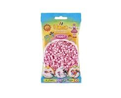 Hama midi perler / 1000 stk, pastel rosa