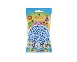 Hame midi perler / 1000 stk, isblå