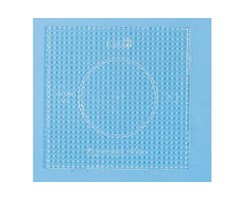 Hama stiftplade ( smaple ) 15x15 cm, transparent