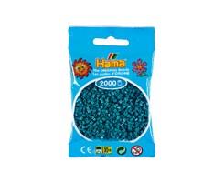 Hama mini perler / 2000 stk, petrol