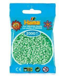 Hama mini perler / 2000 stk, Mint