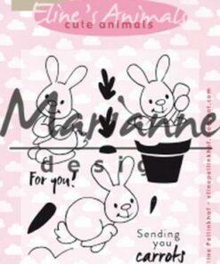 Stempel / Cute bunnies / Marianne Design