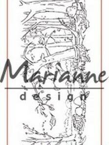 Stempel / Autumn border / Marianne Design