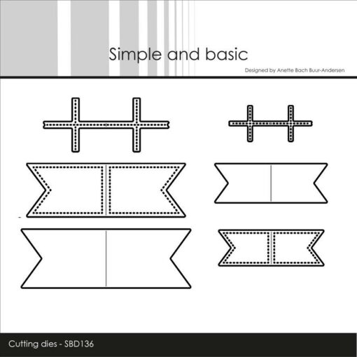 Dies / Mini flag / Simple and Basic