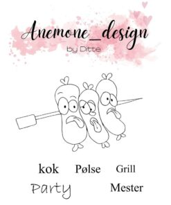 Stempel / Grill Mester / Anemone Design