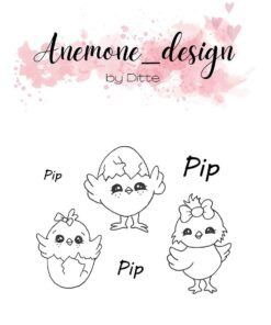 Stempel / Kyllinger / Anemone Design