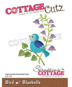 Dies / Fugl i klokkeblomst / Cottage Cutz