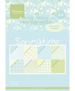Karton-Blok A4 / Springtime / Marianne Design