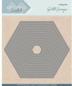 Dies / Hexagon / Card Deco