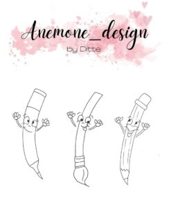 Stempel / Pencils / Anemone Design