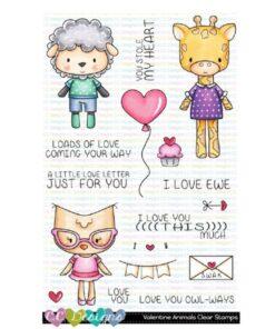 Stempel / Valentine animals / C.C Design