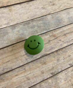 Knap med øje / Grøn