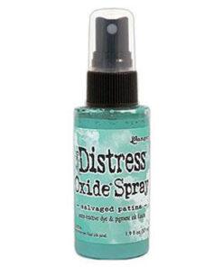 Distress oxide spray / Salvaged patina