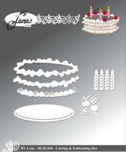 Dies / Birthday cake / By Lene