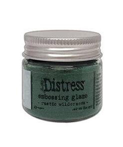Distress embossing glaze / Rustic Wilderness