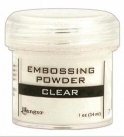 Ranger embossing powder / Fin klar