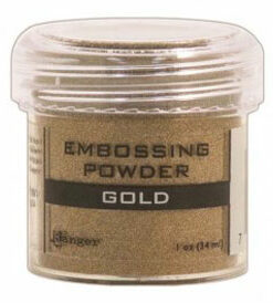 Ranger embossing powder / Guld