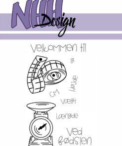 Stempel / Vægt & længde / NHH Design