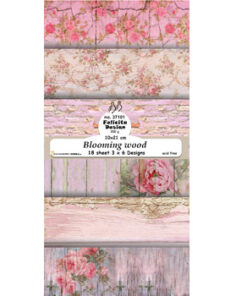 Karton slimcard / Bloomong wood / Felicita Design