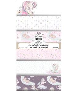 Karton slimcard / Land of fantasy / Felicita Design
