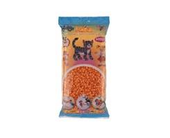 Hama midi perler, 6000 stk / Abrikos
