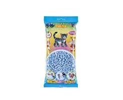 Hama midi perler, 6000 stk / Pastel isblå