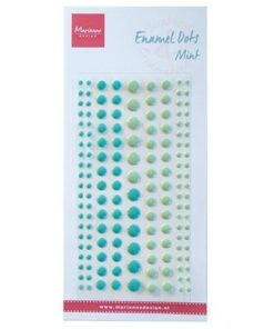 Enamel dots / Two mint / Marianne Design